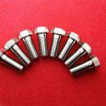 不銹鋼stee304緊固螺釘/六角頭螺栓ss 304桁架頭螺栓