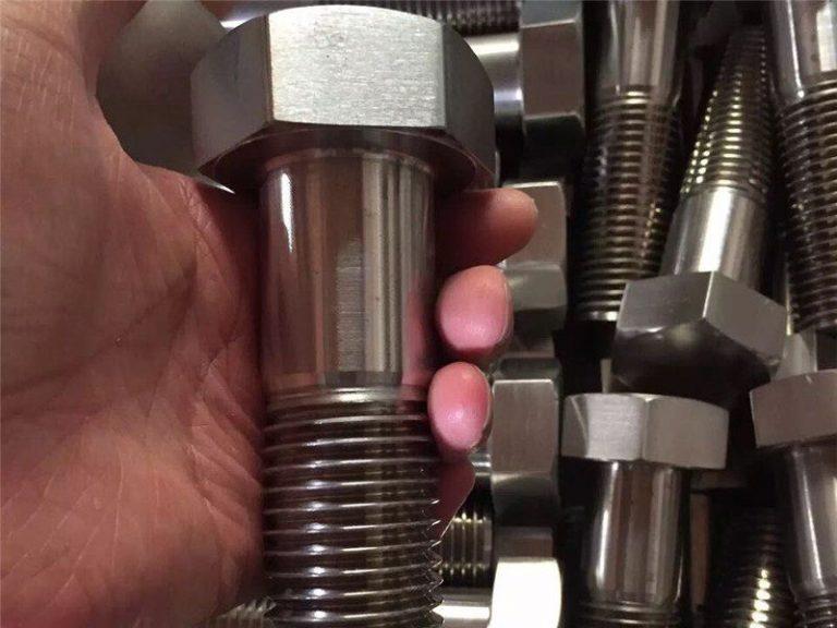 incoloy 825 zh 2.4858不銹鋼螺栓螺釘緊固件inconel718 en2.4668