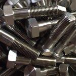 鎳合金600 en 2.4816螺栓輪螺栓din931chinese供應商