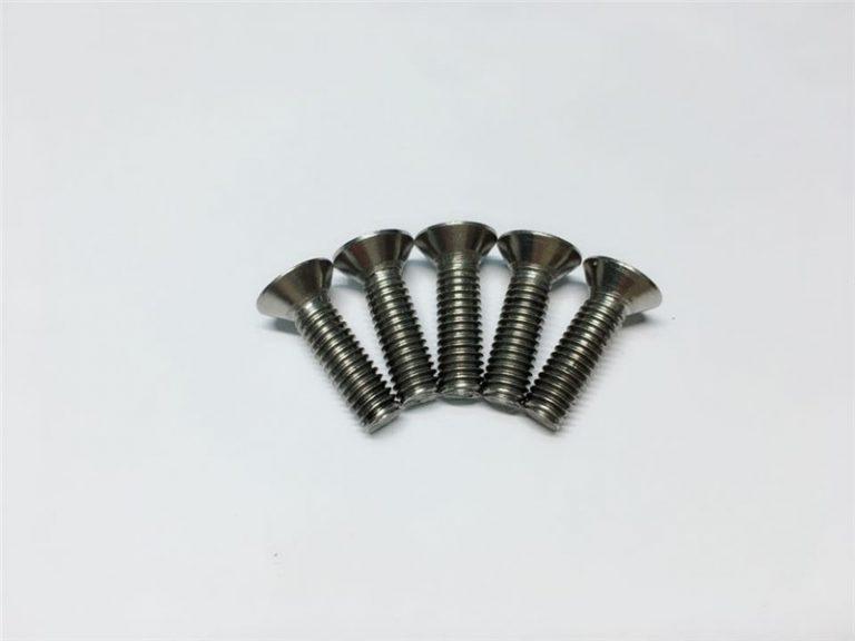 M3,M6鈦合金螺釘平頭內六角頭鈦合金法蘭螺釘適用於脊柱手術