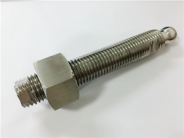 定制cnc銑削不銹鋼球頭螺栓和緊固件