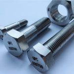 高品質熱浸鍍鋅級8.8 din933全螺紋六角螺栓