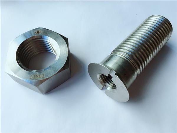 定制碳鋼金屬五金軌道螺栓和螺母