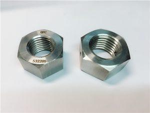 No.76 Duplex 2205 F53 1.4410 S32750不銹鋼緊固件重型六角螺母