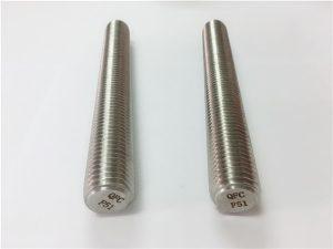 No.77 Duplex 2205 S32205不銹鋼緊固件DIN975 DIN976螺紋桿F51