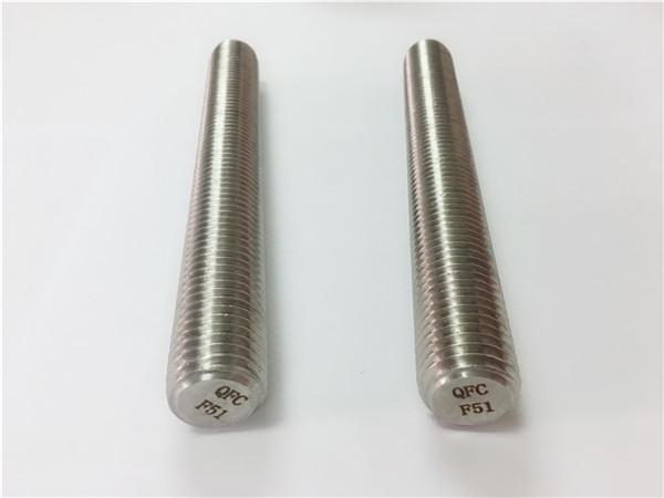 duplex2205 / s32205不銹鋼緊固件din975 / din976螺紋桿f51