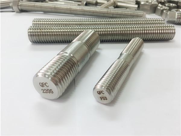 雙面2205 s32205 2507 s32750 1.4410高品質五金緊固件木螺紋桿錨