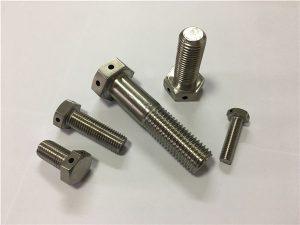 No.89-哈氏合金C276 UNS N10276 2.4819六角螺栓DIN933 DIN931