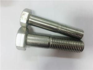 No.90-冷熱鍛造六角頭螺栓a4-80 din931