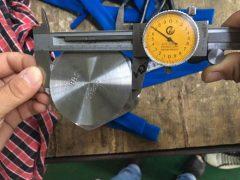 S31803六角頭螺釘尺寸測試