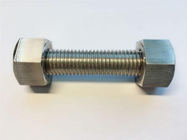 雙頭螺栓c / w 2重型六角螺栓