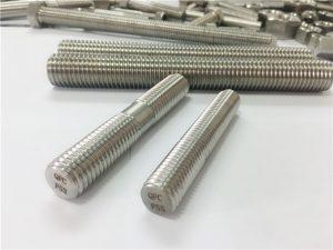 定制自動加工不銹鋼緊固件雙端螺紋桿