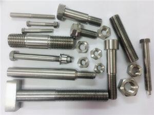 不同種類的定制銅鎳緊固件