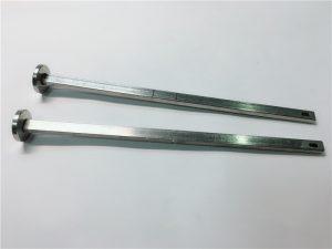 五金緊固件供應商316不銹鋼平頭方頸din603 m4支架螺栓