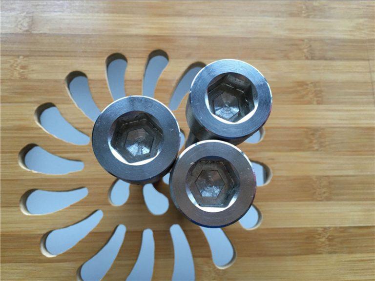 高品質ASEM六角套筒鈦gr2螺釘/螺栓/螺母/墊圈/