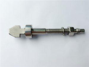 鈦制盤式製動螺栓,帶杯形和錐形墊圈